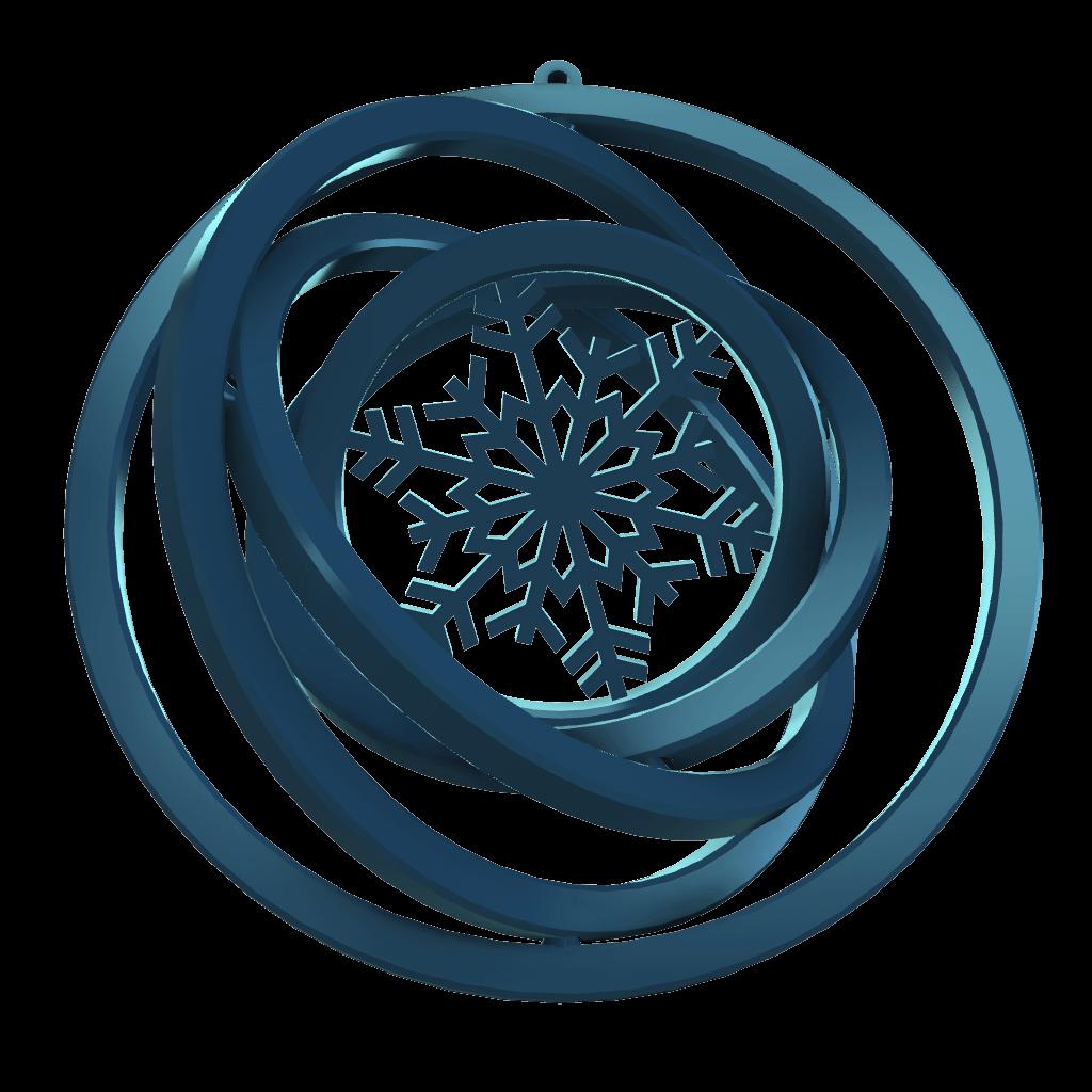 Snaigė-karibų-mėlyna