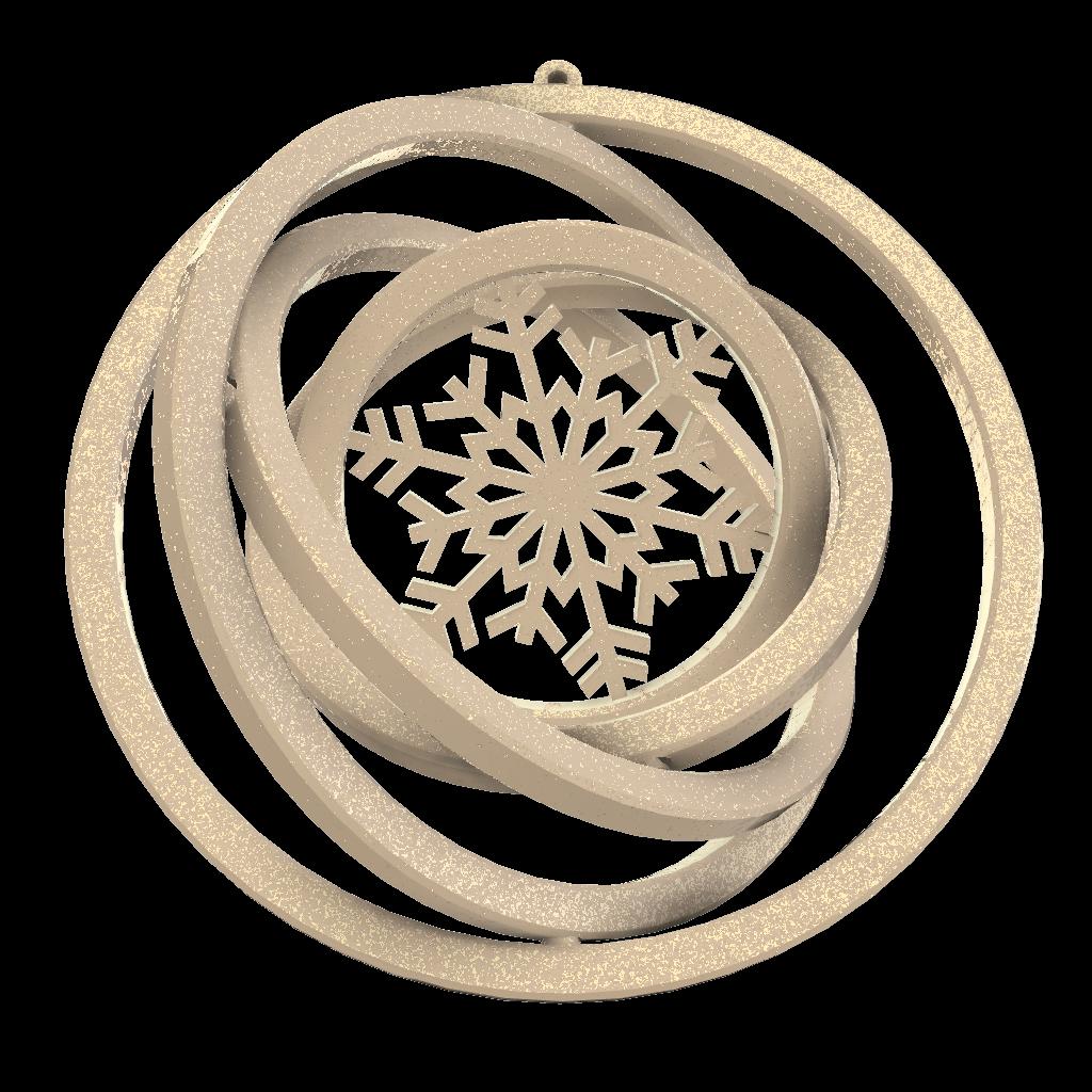 Snaigė-smėlio-auksinė
