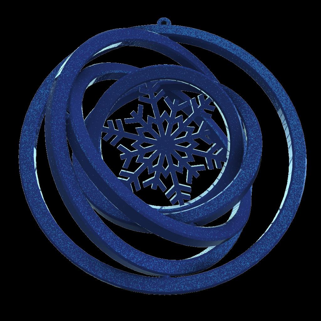 Snaigė-mėlyna